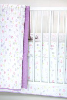 Auggie Crib Skirt - Mix + Match Crib Bedding | Shop BabyBliss