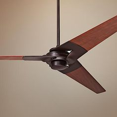 52 Modern Fan Torsion Dark Bronze Ceiling Fans Without Lightsceiling