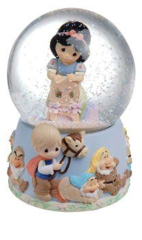 Precious Moments - Snow White Water Globe <3 Some Day My Prince Will Come