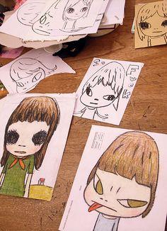 Yoshitomo Nara studio visit