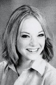 Celebrity yearbook photos to prepare you for picture day—Emma Stone