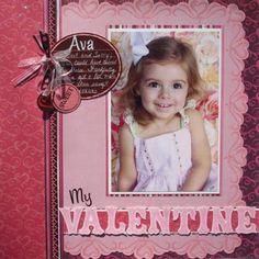Pretty Pink My Valentine Page...
