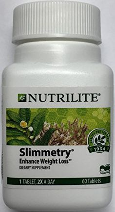 Low-Fat Weight Loss Supplement Tablets promo  Nutrilite Slimmetry Enhance Weight Loss- 60 Tablets