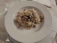 Un risotto profumatissimo, da preparare in autunno, la stagione dei funghi porcini freschi