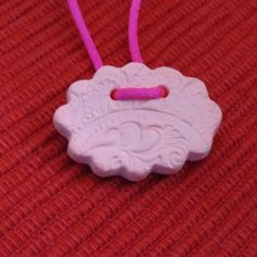 Pink Clay Diffuser Necklace/Car or Room Air Freshener