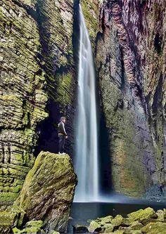 Lindas Cachoeiras do Brasil--Cachoeira da Fumacinha - Bahia