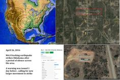 #Dutchsinse  4/26/2016 — New large M4.0 Fracking earthquake strikes Oklahoma — Earthquake forecast hit - Midwest USA #Earthquake Alert:  #Oklahoma has now been struck by a noteworthy M4.0 range earthquake... https://www.facebook.com/dutchsinseofficial/posts/578740412293103 http://dutchsinse.com/4262016-new-large-m4-0-fracking-earthquake-strikes-oklahoma-earthquake-forecast-hit/
