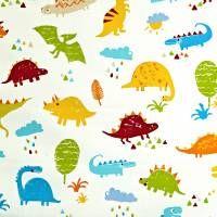 Dino Fabric - Paintbox