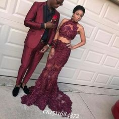 Two Piece Mermaid Prom Dresses with Lace Appliques CR 839 - Bal de Promo Evening Dresses Uk, Prom Dresses 2017, Prom Outfits, Mermaid Evening Dresses, Prom Dresses Online, Formal Dresses, Dress Online, Dress Prom, Prom Couples