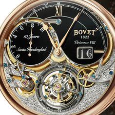 Bovet Virtuoso VIII 10-Day Flying Tourbillon Big Date Watch