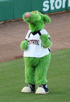 Thunder, Lake Elsinore Storm mascot; Class A-Advanced California League.