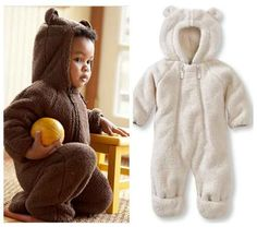 Fleece Bear   36 Onesies For The Coolest Baby You Know