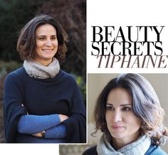 BEAUTY SECRETS from women who don't look their age: Tiphaine, 40. Journalist and mom of 2. From Paris, based in England...