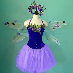 faerie costume for festival | Fairy Costume - The Purple Passion Faerie - adult size small - velvet ...