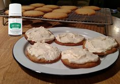 "Frosted Jade Lemon ""Sugar"" Cookies"