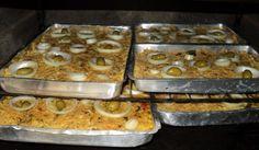 Receita de Torta de bacalhau com palmito (capixaba).