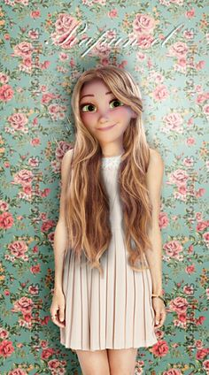 Rapunzel in real life- by Iszryl