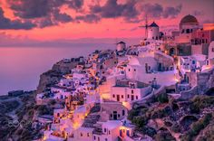 Santorini Sunset by Anubhav  Tiwari on 500px