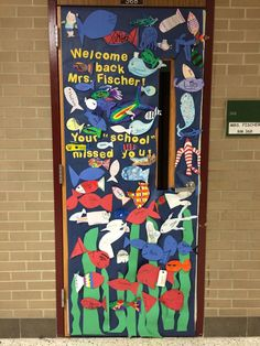A Welcome Back from maternity leave door decoration! The students had so much fu. - A Welcome Back from maternity leave door decoration! The students had so much fu. Teacher Tools, Teacher Gifts, Teacher Stuff, Welcome Back Teacher, Skin Dermatologist, Letter To Teacher, Pregnancy Books, Classroom Themes, 4 Kids