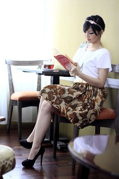 Dress Batik | Dewi Sri Batik Dress | DhieVine | Redefine You