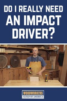 Seeing is believing! Watch this demonstration and don't be surprised if your next tool purchase is an impact driver. For more information about impact drivers check out the related impact driver product review.