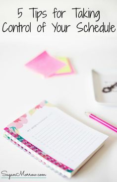 Take back control of your life & business! This articles features 5 tips for taking control of your schedule so that you can get more done & be more productive. Click on over to get the tips now! ::: productivity tips :::