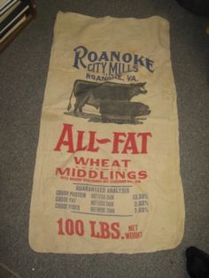 Roanoke Mills Roanoke, Virginia 20x38