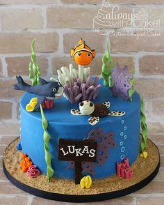 Finding Nemo Cake - Cake by AlwaysWithCake