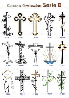 Unique Cross Tattoos, Cross Tattoos For Women, Cross Tattoo Designs, Biblical Tattoos, Religious Tattoos, Christian Crafts, Christian Symbols, Rosary Bead Tattoo, Lace Bow Tattoos