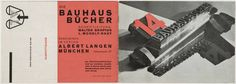 László Moholy-Nagy. 14 Bauhausbücher. 1928