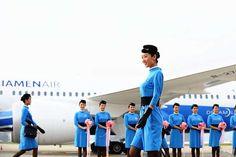 【China】 Xiamen Airlines cabin crew / 厦門航空 客室乗務員 【中国】 China, Porcelain