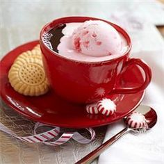 Creamy Peppermint Coffee from Folgers®