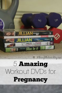 5 Workout DVDs for Pregnancy #Diet