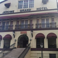 Jerome Arizona Cute Lil Hippie Town One Of The Most Haunted Hotels