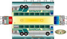 PLANETA ÔNIBUS.: Ônibus em Papercraft.