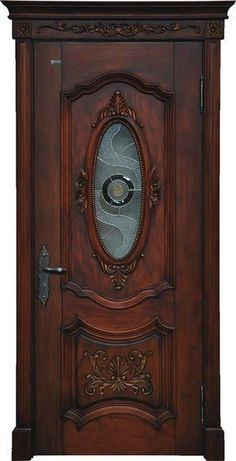 Door And Window Design, Wooden Main Door Design, Room Door Design, The Doors, Entrance Doors, Windows And Doors, Wooden Glass Door, Wooden Doors, Classic Doors