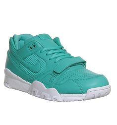 sports shoes bb672 9f5c7 Nike Air Trainer 2 Prm Crystal Mint White Qs - His trainers
