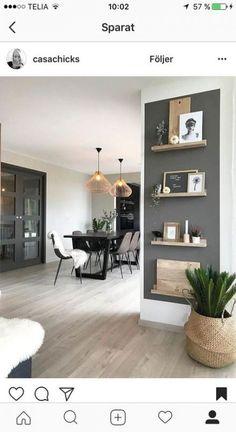 35 Essential Shelf Decor Ideas (A Guide to Style Your Home) bedroom livingroom kitchen decor bracket wall modern floating diy white ideas. House Design, Room Decor, Home And Living, Interior Design, House Interior, Home Living Room, Home, Interior, Home Decor