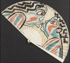 Omega Workshops Fan by Duncan Grant, 1910