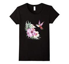 Women's Hummingbird Hibiscus Floral t-shirt Medium Black ... https://www.amazon.com/dp/B01MZA7MO0/ref=cm_sw_r_pi_dp_x_R.7Lyb9HV8FVE
