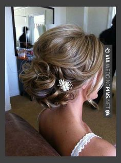 So cool - Hairstyles, Beautiful Short Hair Updos For Wedding: Simple Style of Wedding Updos For Medium Length Hair   CHECK OUT THESE OTHER SWEET IDEAS FOR NEW WEDDING HAIRSTYLES 2016 OVER AT WEDDINGPINS.NET   #weddinghairstyles2016 #weddinghairstyles #weddinghair #2016 #weddings #weddingvows #vows #tradition #nontraditional #events #forweddings #iloveweddings #romance #beauty #planners #fashion #weddingphotos #weddingpictures