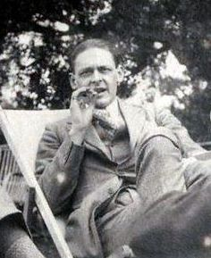 T. S. Eliot, photographed one Sunday afternoon in 1923 by Lady Ottoline Morrell