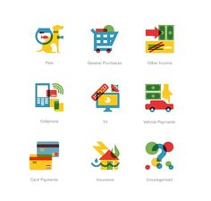 22 Seven—Colour Icons by MadebyRadio — Designspiration