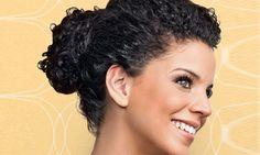 Tutorial: coque volumoso para cabelo cacheado #Curls #1