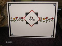 SoNice! by Susie1967 - Cards and Paper Crafts at Splitcoaststampers