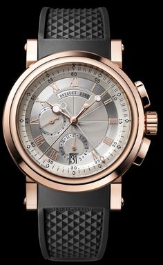 Breguet [NEW] Marine Chronograph 5827BR/12/5ZU Silver Dial Mens Watch. Special Offer to You at only HK$ 162,000.