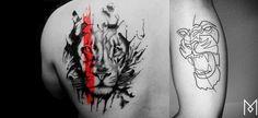 tatuagem de leão, desenho leão, tatuagem potilhada, tatuagem aquarela, alex cursino, inspirações, como fazer, grooming, blog de moda masculina, menswear, dicas de moda para homens (18)-horz