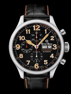 Ernst Benz Chronoscope Chronograph Watch at London Jewelers!