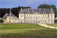 Le château de Montgeoffroy, commune de Mazé, département du Maine-et-Loire, région Pays de la Loire.