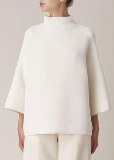The Row Agrena Top (Off White) Mode Style, Style Me, Estilo Jackie Kennedy, Fashion Looks, Fashion Tips, Fashion Design, Fashion Fashion, Mode Top, Mode Vintage
